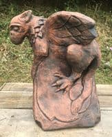Baby Griffin Roof finial angled ridge tile